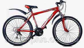 Велосипед ТМ Trino Tour CM005 (стальная рама, рост 165-178 см)+ доставка