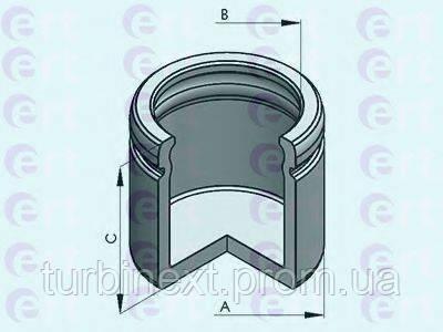 Поршенек суппорта (заднего) MB M-class (W164) 05-11 (40x55,45mm) (Ate) ERT 151212-C