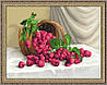 Картина гобеленовая Малина 35х48см в багетной раме