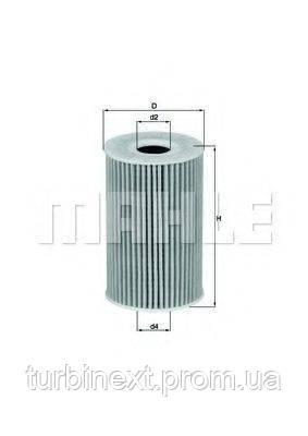 Фильтр масляный VW 1.6 -2.0TDI 10- KNECHT OX 388D