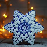 Снежинка Мыло ручной работы