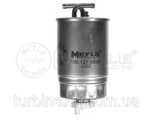 Фильтр топливный VW LT 2.4D/T3 1.6D/TD -88/Golf II -87 (без подогр.) MEYLE 100 127 0006