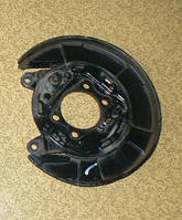 Кожух тормозного диска задний левый Mitsubishi Lancer X, 2008, 4600A151