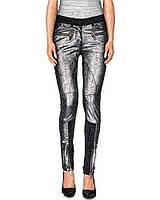 9953fe88 Женские леггинсы из натуральной кожи Karl Lagerfeld оригинал; женские штаны  Кожаные; женские лосины