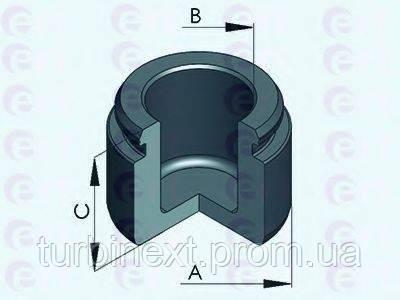 Поршенек суппорта Renault Megane II/Opel Astra 02- (40x30mm) (Brembo) ERT 151286-C