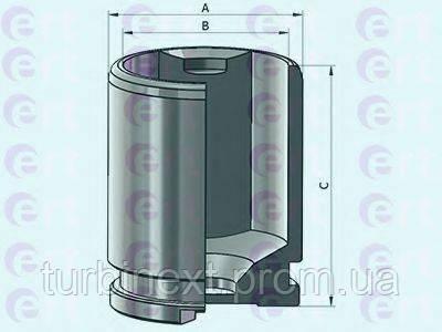 Поршенек суппорта (заднего) VW Passat 05-12 (38x51,9mm) ERT 151182-C