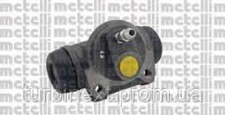 Циліндр гальмівний (задній) Fiat Doblo 01- (d=20.64 mm) METELLI 04-0820