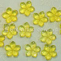 Клеевой / пришивной декор Цветок, 25 мм