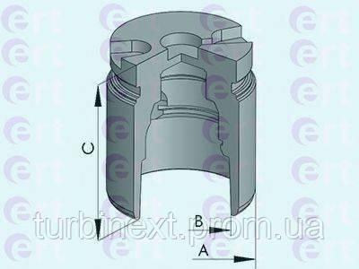 Поршенек суппорта (заднего) Renault Master II/Opel Movano 98- (42x48,5mm) ERT 150898-C
