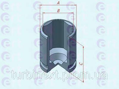 Поршенек суппорта (заднего) Audi A4/A6/A8 04- (42.8x52.1mm) ERT 151198-C