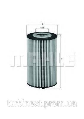 Фильтр масляный MB Vario/Atego OM904 KNECHT OX 161D