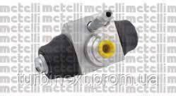 Цилиндр тормозной (задний) VW Caddy II 96-00 (d=20.64mm) METELLI 04-0594