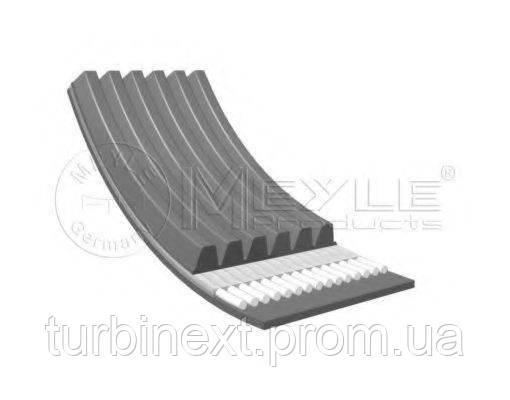Ремінь генератора Audi 100 2.4 D/2.5 TDI 90-94/Fiat Fiorino 1.3 D 07- (6PK1325) MEYLE 050 006 1325
