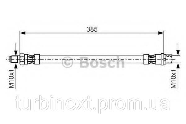 Шланг тормозной (передний) DB Vario 96-/MB E-class (W210) BOSCH 1 987 476 439