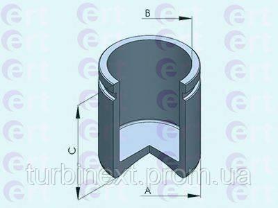 Поршенек суппорта (переднего) MB E-class (S211/W211) 02-09 (60x57,45mm) (Bosch) ERT 151142-C