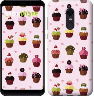 "Чехол на Xiaomi Redmi 5 Plus Тортики ""2327c-1347-2911"""