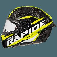 Мотошлем MT Rapide Pro Carbon Yellow, фото 1