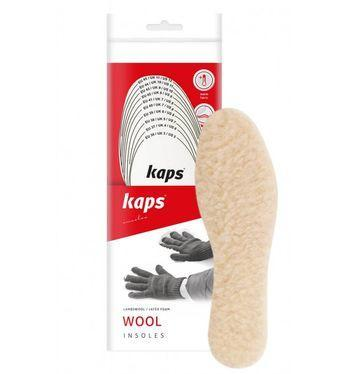 Kaps Wool - Зимние стельки для обуви (для вырезания)