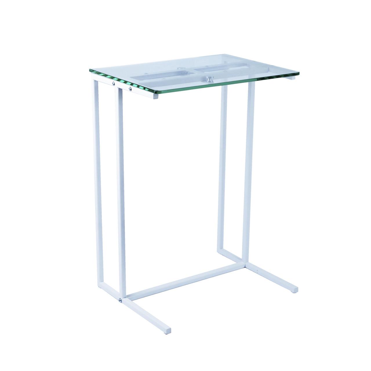 Стол приставной для предметов комфорта и IT-техники Commus Comfort A440 clear 8 /white