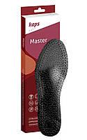 Kaps Master Black - Ортопедические бескаркасные стельки на латексном основании черные, фото 1