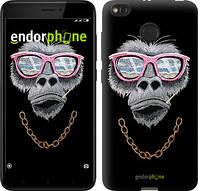 """Чехол на Xiaomi Redmi 4X Крутая обезьяна """"4128c-778-2911"""""""
