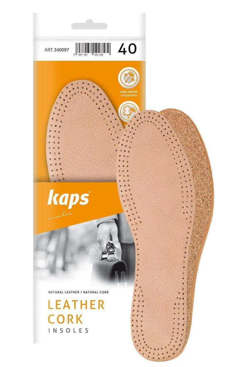 Kaps Leather Cork - Кожаные стельки с корковым деревом
