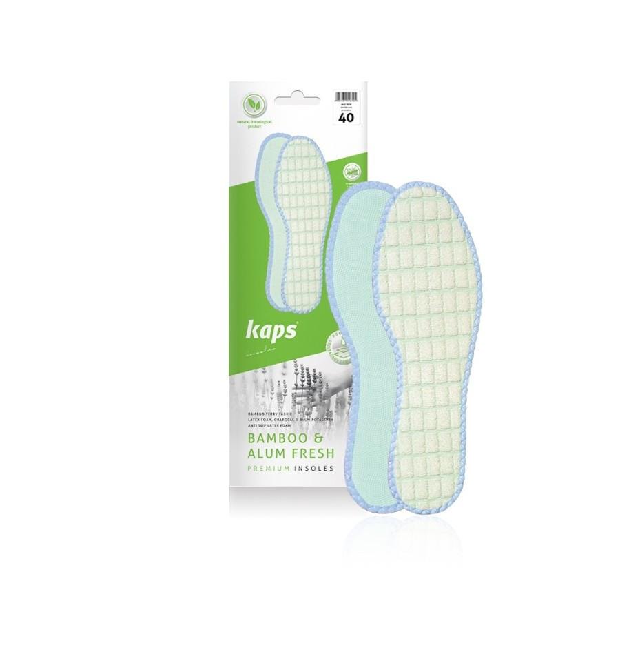 Kaps Bamboo & Alum Fresh - Гигиенические стельки для обуви из бамбукового волокна