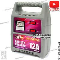 Зарядное устройство Pulso BC-15160 6 / 12 В, 12 А для аккумулятора легкового авто, джипа, микроавтобуса и мотоцикла