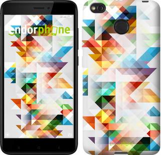 """Чехол на Xiaomi Redmi 4X Геометрия """"2932c-778-2911"""""""