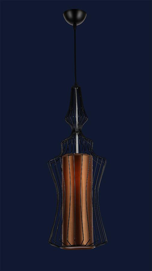 Стильный подвесной светильник 7546649C-1 BK