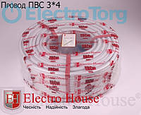 Провод ПВСнг 3х4 (3*4) ElectroHouse, фото 1