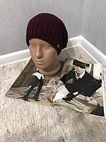 Женская зимняя шапка на флисе, теплая зимняя шапка. Размер универсальный, цвета разные.