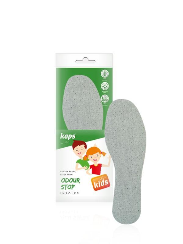 Kaps Odour Stop Kids - Детские гигиенические (антибактериальные) стельки 34
