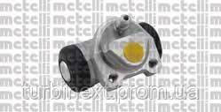 Цилиндр тормозной (задний) Renault Kangoo 1.5/1.9dCi (Bendix d=22mm) METELLI 04-0759