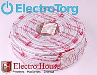 EH-690 TV кабель RG-6U (РК-75) ПВХ белый CCS 1.02 экран 90%  ElectroHouse, фото 1