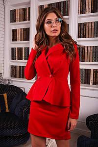 Женский костюм двойка: пиджак и юбка в расцветках. ДК-6-1218