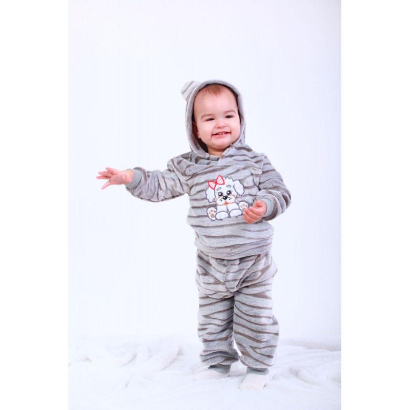 Костюм для новорожденных кофта и штаны