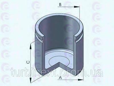 Поршенек суппорта (переднего) Fiat Ducato/Citron Jumper 06- (46x58mm) ERT 150793-C