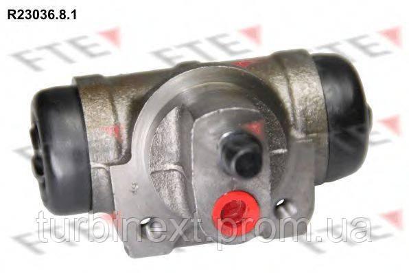 Цилиндр тормозной (задний) Renault Master 97- (L) FTE R23036.8.1