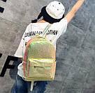 Рюкзак голографический под рептилию., фото 5