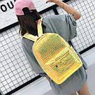 Рюкзак голографический под рептилию., фото 6