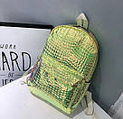 Рюкзак голографический под рептилию., фото 8