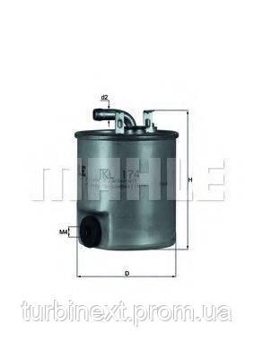 Фильтр топливный MB Sprinter/Vito CDI KNECHT KL 174