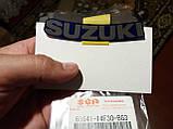 "Наклейка ""SUZUKI"" над фарой 01-02г FOR Y7H Suzuki Burgman SkyWave 68641-14F30-BG3, фото 2"