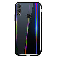 TPU+Glass чехол Gradient Aurora для Huawei Honor 8X Max