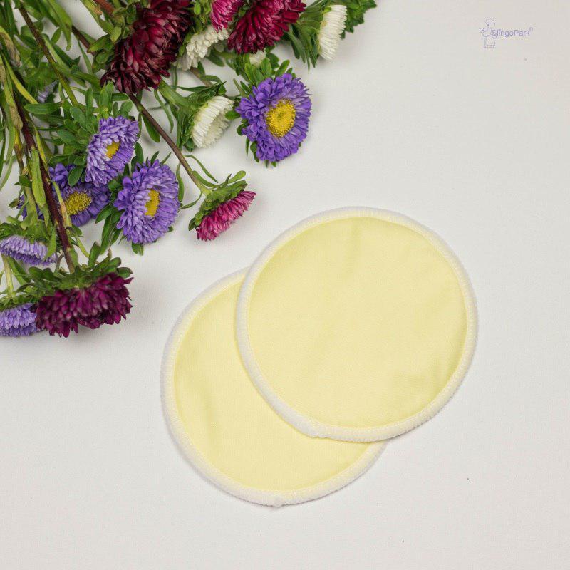 Эко-прокладки для груди SLINGOPARK (жёлтый)