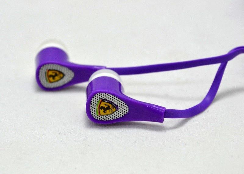 Наушники Ferrari S-100i Violet