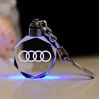 Брелок c подсветкой Audi