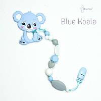 Грызунок из пищевого силикона Blue Koala BABY MILK TEETH