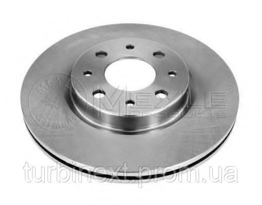 Диск тормозной (передний) Fiat Doblo 01- (257x20) MEYLE 215 521 0008
